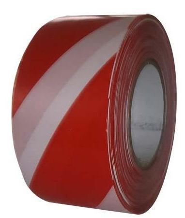 Bezpečnostná Výstražna páska nelepiaca červeno/ biela š 7,5 cm ...